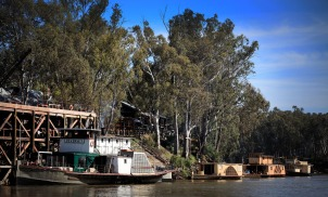 Paddlesteamers in Echuca