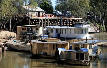 Victorian Dock in Echuca