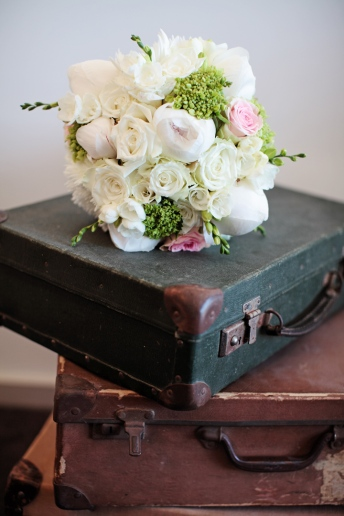 Flowers and Suitcases