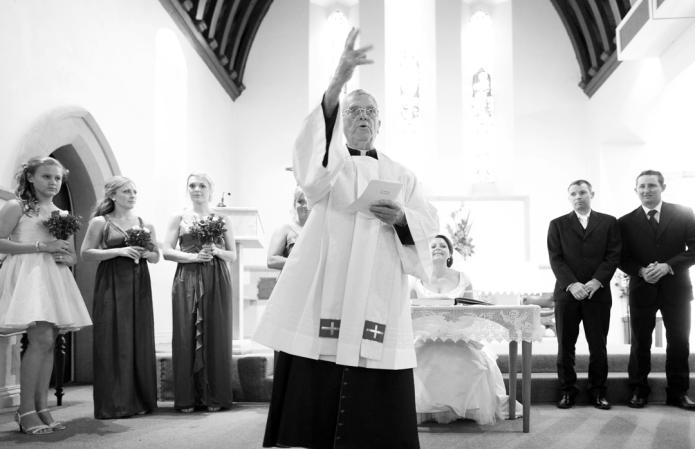 Monsignor White, St Patricks Catherdral.