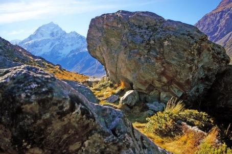 'Goat tracks' thru rugged Mountain Ranges