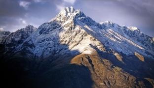 Rugged Mountain Ranges.