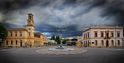 beechworth panorama colour