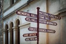 Beechworth Signpost
