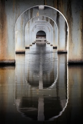Benalla Bridge Vertical Under