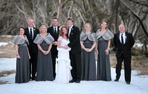 Bridal Party at Mt Hotham