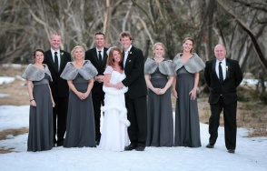 Bridal Party at Mt Hotham