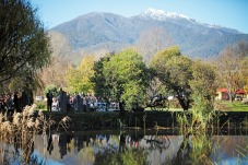 Ceremony at Dreamers and 'slight' snow on Mt Bogong