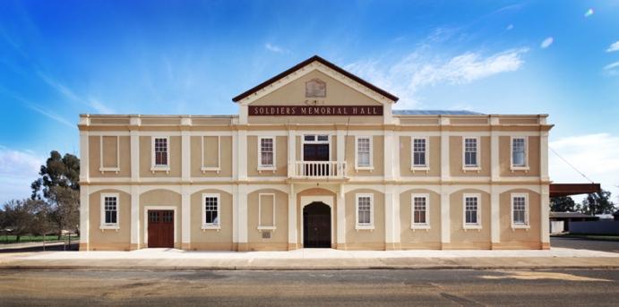 Soldiers Memorial Hall, Urana