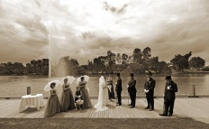 A wedding in Benalla
