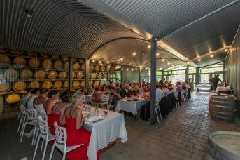 Reception Wedding feathertop Winery