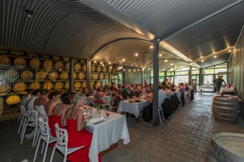 Reception Wedding feathertop Winery