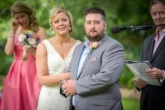 Wedding at Chestnut Tree Apartments
