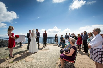 Mt Buffalo Wedding Ceremony