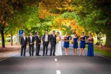 Autumn wedding in Bright