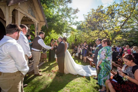 Eurobin Chapel Wedding Ceremony
