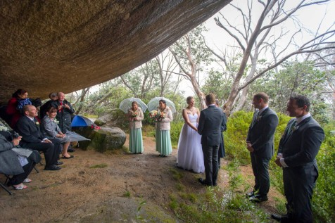 Wedding at the Leviathan Mt Buffalo