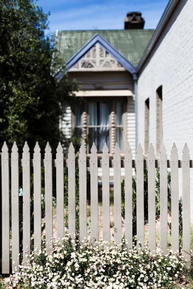 Creswick picket fence