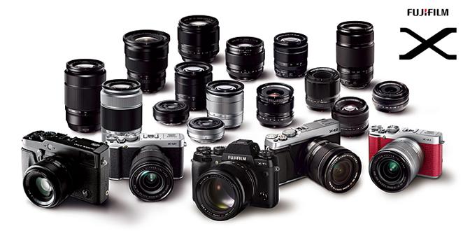 Using the Fuji X-series Photo Workshop