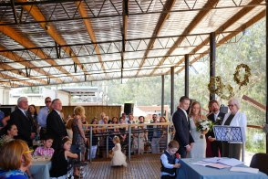 Wedding Ceremony at Watermarc Wangaratta