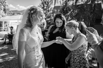 Ginger Baker Wedding in Bright