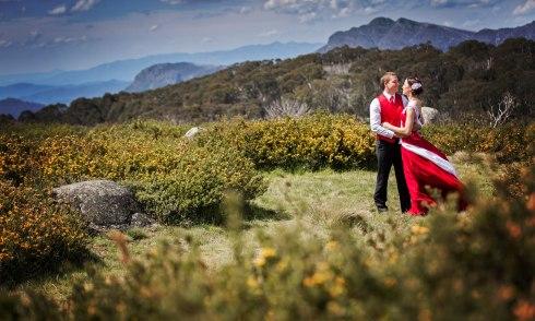 Wedding at Craigs Hut 2