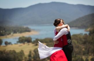 Wedding photos Lake Eildon 2