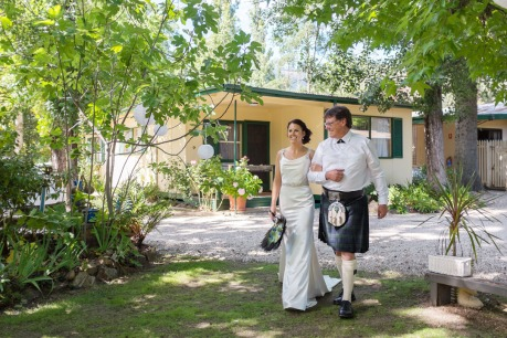 Pioneer Garden Cottages Wedding