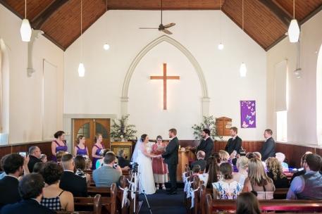 Bright uniting church wedding 4