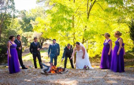 Wedding in Bright