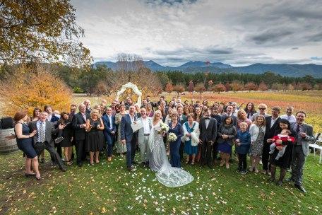 Wedding at Boyntons winery 1
