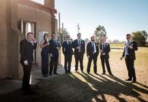 Wedding at the Burramine Church