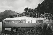 A bus going no where