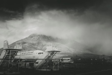 Snow storm at the Remarkables