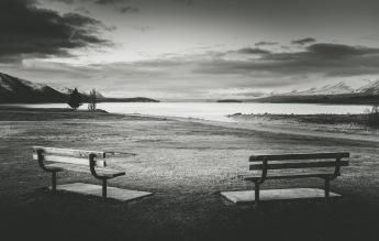 Sunrise at Lake Tekapo