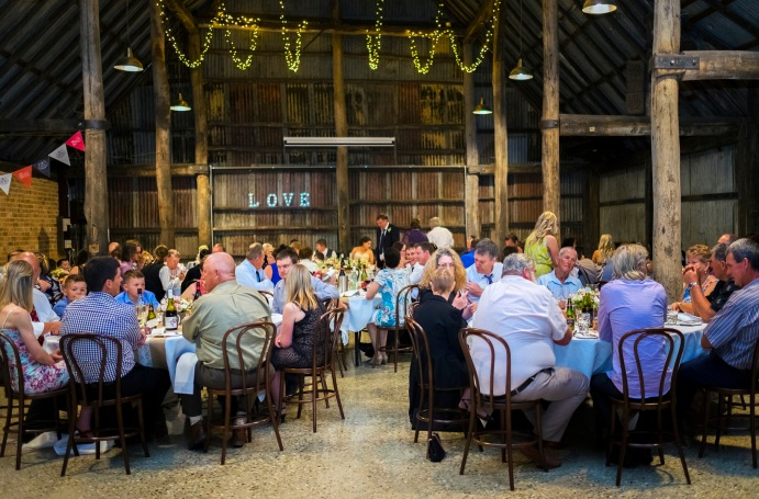 Brown Brothers Barn Wedding