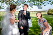 Having a Laugh with the Celebrant
