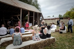 Milawa Mustards Barn Wedding Ceremony