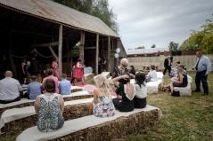 Milawa Mustards Barn Wedding Ceremony