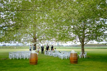Wedding at Brown Brothers Winery