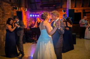 Wedding Reception at Brown Brothers Barn