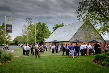 Wedding Reception at the Brown Brothers Winery Barn