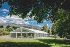 Wedding reception in Harrietville