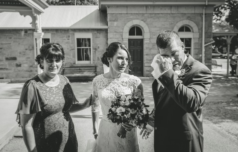 Beechworth Historic Court House wedding 6