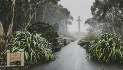 Snowing at Mount Macedon
