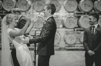 Brown-Brothers-Barrel-Room Wedding