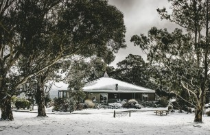 Top of the Range, Mount Macedon in snow