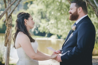 Wedding at the Lake House, Daylesford