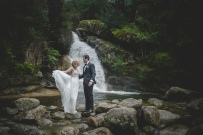 Wedding Photos at Ladies Bath Falls