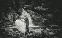 Wedding Photos at Ladies Bath Falls